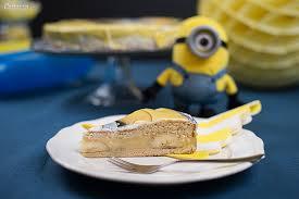 minions pudding bananen torte