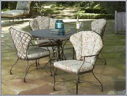 Vintage Wrought Iron Patio Furniture Cushions by Woodard Patio Furniture Cushions Patios Home Decorating Ideas