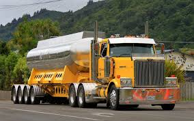 Triaxle Fuel Tanker Built Up On Unique Looking Bolsters, Western ...
