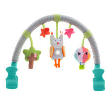 arche pour siege auto arche musicale hibou taf toys pour enfant dès la naissance