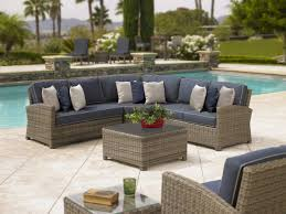 Outdoor Deep Seating Sectional Sofa by Outdoor Wicker Seating Sofas U0026 Sectionals Redbarn Furniture
