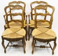Set French Country Ladder Back Dining Chairs - Feb 11, 2018 ... Guy Chaddock Melrose Custom Handmade Fniture Cf0485s Country French Ding Chairs With Ladder Back And Rush Seats Antique Farm Carved Tall Seat Room Set Of 6 Provincial In Walnut 10 Louis Xv Style Oak Leather Nailhead Recliner Chair Vintage White Of Four Six Xiv Ladderback Scalloped Stretchers Inspire Q Eleanor Wood 2 By Dec 16 2018