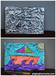 Textured Tin Foil Art