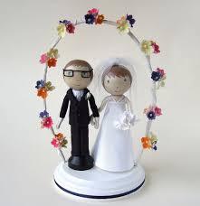 Cute Custom Wedding Cake Topper PNG