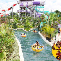 Wisata Jogja Bay Waterpark Adventure Wahana