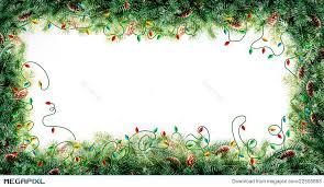 Christmas Tree Frame Stock Photo 22505863
