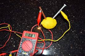 lemon battery potato battery science with