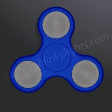 LED Fidget Spinner Blue Multi Function Sensory Lights