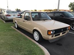 1981 VW Rabbit Pickup Aka Caddy. 5 Speed Diesel With Ac : Volkswagen