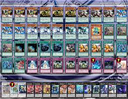 Constellar Deck Link Format by R F Dinomist Control For Locals And Or Online Play Yugioh