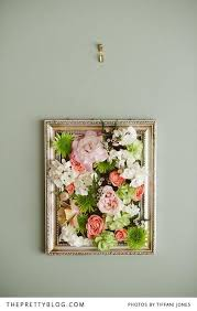 Maybe Instead Of That Large White Frame Flowers Something This Size Or A Little