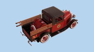 100 31 Ford Truck Yann Chan Chit Sang Model A 1930 Firetruck