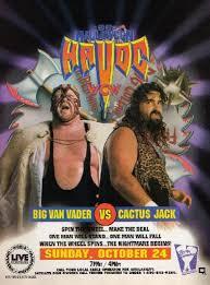 Halloween Havoc 1995 by Wcw Halloween Havoc Ranking The Wrestling Event U0027s Posters