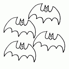 Printable Bat Coloring Pages Halloween