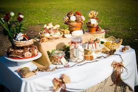 French Country Dessert Table