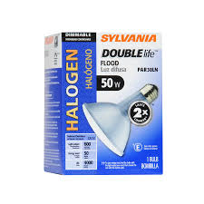 shop sylvania 50 watt dimmable warm white par 30 longneck halogen