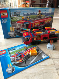 Lego City 60061 - Airport Fire Truck, Mainan & Game, Undefined Di ...
