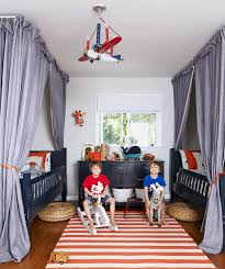A Playful Budget Hand Me Down Bedroom For Twins