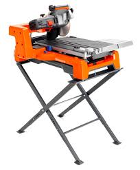 Ridgid Wet Tile Saw by Husqvarna Ts 60 Tile Brick Saw With Stand 28