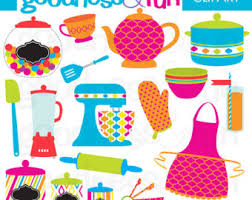 The Kitchen Clipart Cute 6