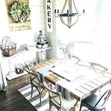 Dining Room Wall Decor Ideas Farmhouse Rustic Lovable