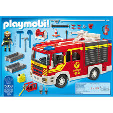 Playmobil Fire Engine With Lights And Sound - Jadrem Toys Playmobil 4820 City Action Ladder Unit Amazoncouk Toys Games Exclusive Take Along Fire Station Youtube Playmobil 5682 Lights And Sounds Engine Unboxing Wz Straacki 4821 Md With Rescue Playset Walmart Canada Toysrus Truck Emmajs Airport Sound Saves Imaginext Batman Burnt Batcopter Dc Vintage Playmobil 3182 Misb Ebay