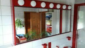 rote spiegelschrank badezimmer ausstattung und möbel ebay