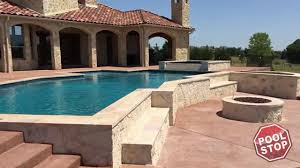 How We Built A Custom by Building A Custom Inground Swimming Pool In Rockwall Tx