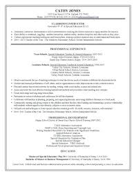 Special Education Teacher Resume Examples Find This Pin And More On Resumes