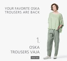 100 Oska Sale OSKA Trousers Vaja Were A Hit Last Season For Their Subtle Play On