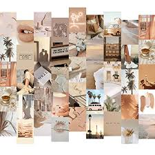 mydreamwork premium wandcollage bilder set 50er ästhetik poster mädchen collage kit stilvolles bilderset für das wohnzimmer 50 stück