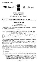 File The Constitution of India Application to Jammu and Kashmir