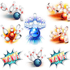 Free bowling lanes clipart ClipartPost