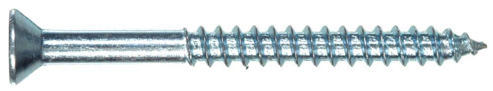"The Hillman Group 40021 Flat Head Phillips Wood Screw - 6"" X 1"""