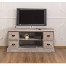 rustikales tv sideboard hellgrau aus massivholz moebro de