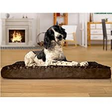 amazon com furhaven pet orthopedic pet mattress large