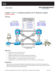 CCNPv6 SWITCH Lab7-1 Switch IP Telephony Instructor | Quality Of ... Implementing Cisco Qos Model To End Users Network Eeering Configure Voip In Cisco Packet Tracer Youtube Cp8841k9 Unified Ip Colour Display Telephone Phone Cisco Spa504g 4line With 2 Port Switch Poe And Lcd Phone 3905 Is Not Working Hp A5120e Poe Switches 300115 Switched Networks Quality Of Bcmsnbuilding Converged Multilayer 23799065 Ccnp Semester 7 Moduel Service Sg25010p Gigabit Smart 62w Spa501g 4 How Basic Ipphone Cfiguration Grandstream Gxp1405 Voice Vlan Tag Cfiguration Using 8845
