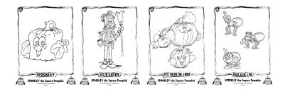 Spookley The Square Pumpkin by Spookley The Square Pumpkin Coloring Pages 28 Images Print