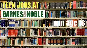 Jobs for Teenagers at Barnes & Noble
