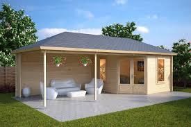 100 Contemporary Summer House House Sophia 10m 8 X 35 M 44mm Hansa24 Group