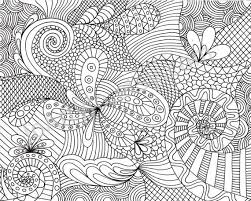 Free Printable Detailed Coloring Pages Zentangles