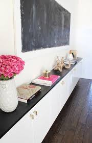 Customizing Ikea Into One Very Chic Built In Dining Room Credenza Buffet WOW By Made Girl