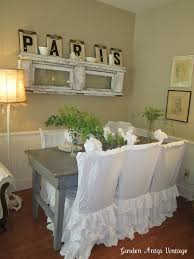 Shabby Chic Dining Room Chair Covers by 102 Best Chair Slip Covers Images On Pinterest Chair Covers
