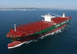 le plus grand porte conteneurs du monde a été baptisé mer et marine