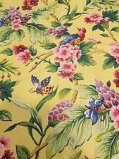 Waverly Fabric Curtain Panels by Waverly Tropical Curtains Drapes U0026 Valances Ebay