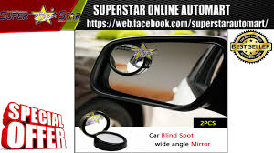 Black 50mm 360 Rotation Adjustable Car Suv Truck Blind Spot Side ... 2019 Ram 1500 Chief Engineer Demos New Blind Spot Detection Other Cheapest Price Sl 2pcs Vehicle Car Truck Blind Spot Mirror Wide Accidents Willens Law Offices Improved Truck Safety With Assist System For Driver 2pcs Rear View Rearview Products Forklift Safety Moment Las Vegas Accident Lawyer Ladah Firm Nrspp Australia Quick Fact Spots Amazoncom 1 Side 3 Stick On Anti Haul Spots Imgur For Cars Suvs Vans Pair Pack Maxi Detection System Bsds004408 Commercial And