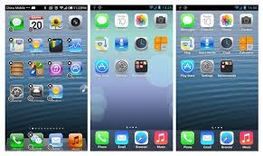 Zes apps om je Android toestel om te toveren in een phone met iOS