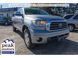 100 Toyota Tundra Trucks For Sale 2007 Limited Double Cab Limited For Sale In Hickory