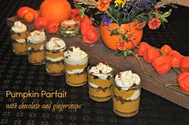 Pumpkin Mousse And Ginger Parfait by Pumpkin Gingersnap Parfaits Joinmefordinner