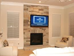 interior recessed lighting design ideas with mounting tv above